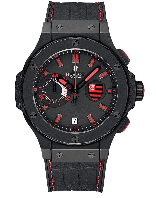 Replica Hublot Big Bang Flamengo Bang 44mm Mens watch 318.CI.112