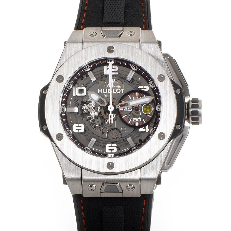 Replica Hublot Big Bang Ferrari Titanium Chronograph 401.NX.0123