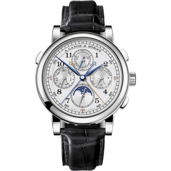 A. Lange & Sohne 1815 Rattrapante Perpetual Calendar 41.9mm Mens Watch 421.025 Replica