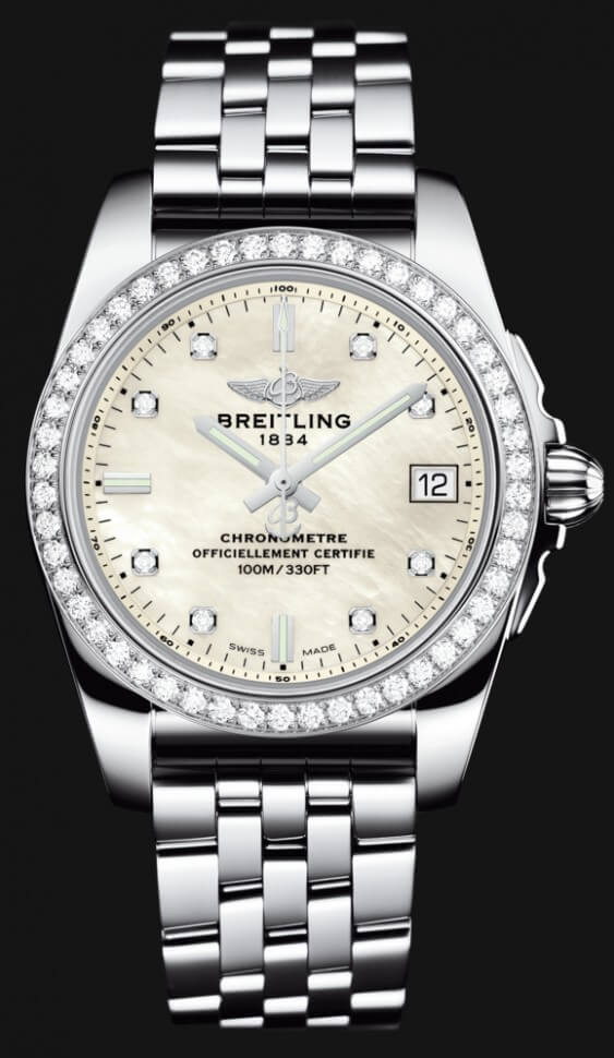 Breitling Galactic 36 A7433053/A780-376A Womens' Watch