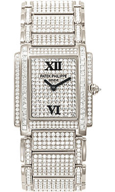 Patek Philippe Twenty-4 Medium WhiteGold 4910/51G-001