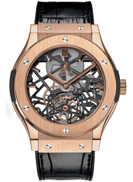 Hublot Classic Fusion Skeleton Tourbillon 99 505.OX.0180.LR