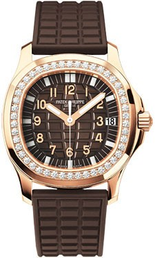Patek Philippe Aquanaut Luce 18kt Rose Gold Diamond Case Automat