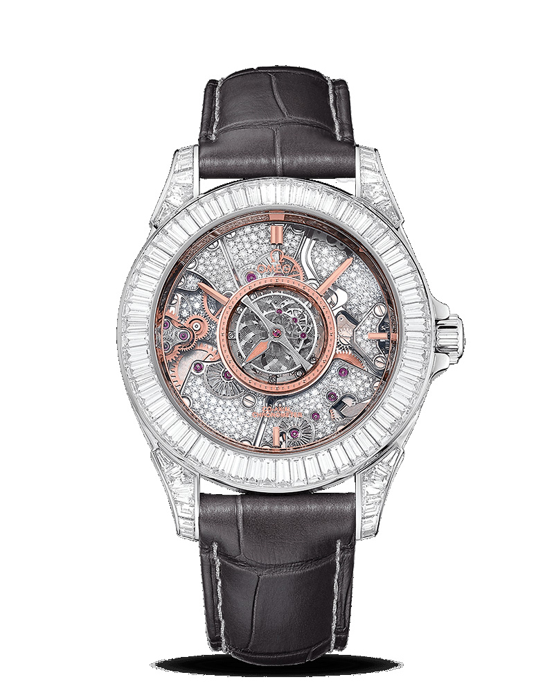OMEGA De Ville Tourbillon Co-Axial Limited Edition 38.7mm 513.98.39.21.56.001 Replica Watch