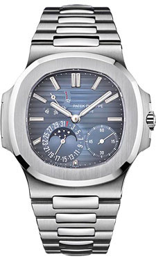 Patek Philippe Nautilus Mens Stainless Steel 5712/1A-001