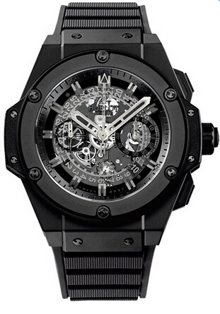 Replica Hublot King Power Unico All Black 701.CI.1710.RX