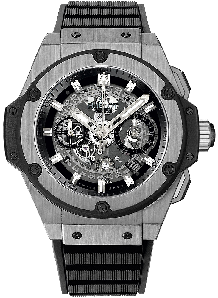 Hublot King Power Unico Titanium Automatic Chronograph