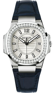 Patek Philippe Nautilus Ladies WhiteGold 7010G-001