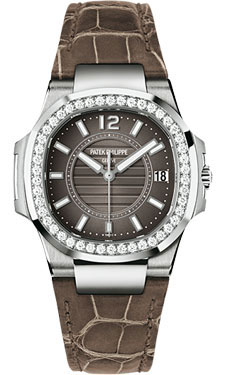 Patek Philippe Nautilus Ladies WhiteGold 7010G-010