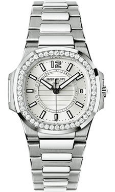 Patek Philippe Nautilus Ladies WhiteGold 7010/1G-001