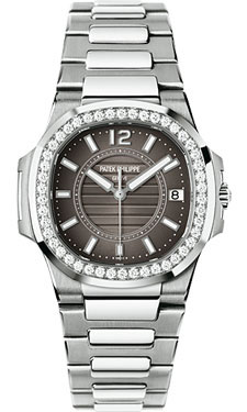 Patek Philippe Nautilus Ladies WhiteGold 7010/1G-010