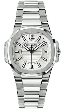 Patek Philippe Nautilus Ladies WhiteGold 7011/1G-001