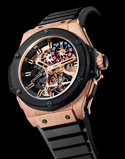 Hublot King Power Tourbillon GMT Mens watch706.0M.1180.RX