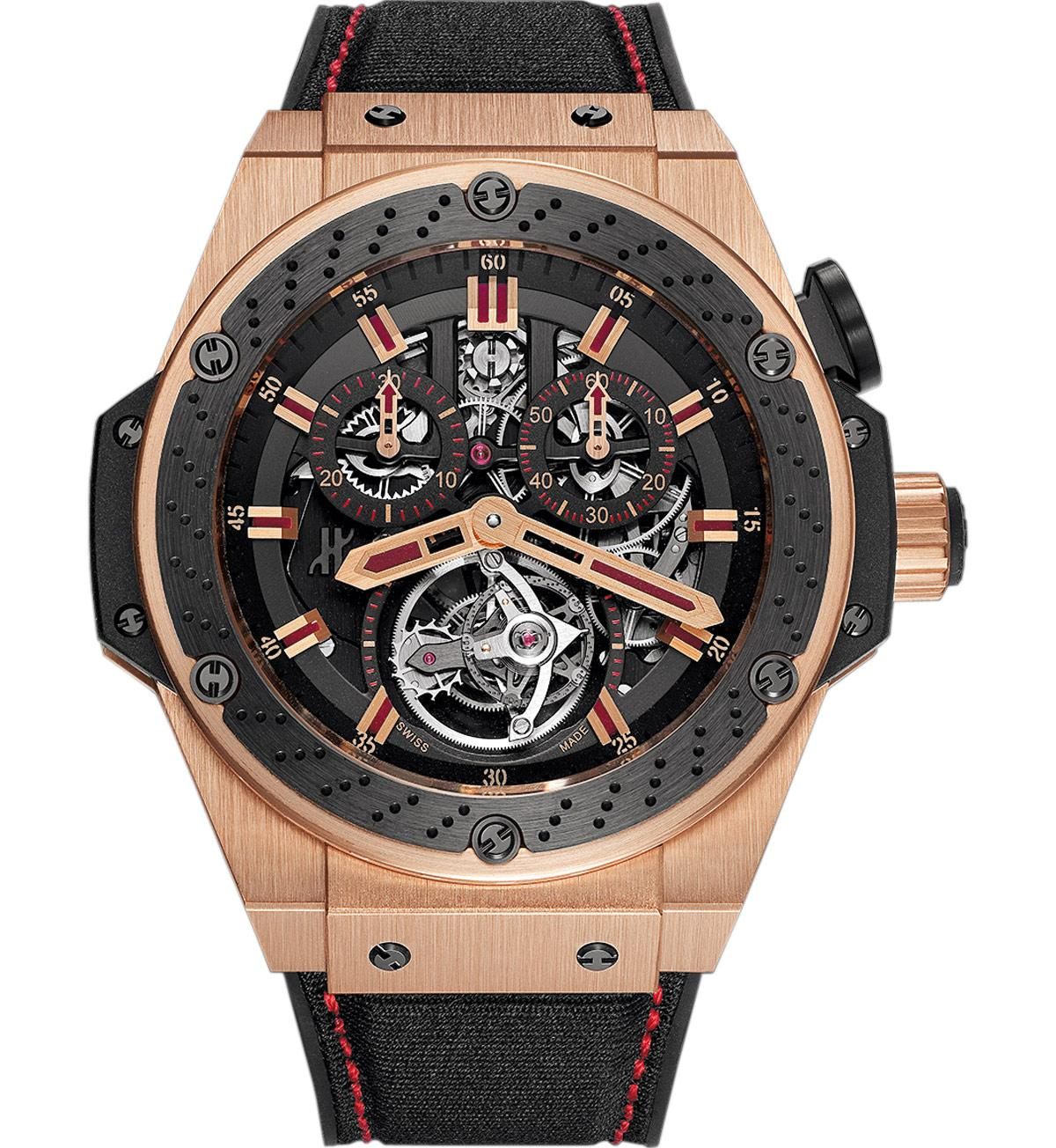 707.OM.1138.NR.FMO10 Hublot King Power Tourbillon F1 Watch
