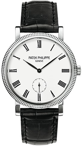 Patek Philippe Calatrava 31mm Mechanical White Dial Men's Watch