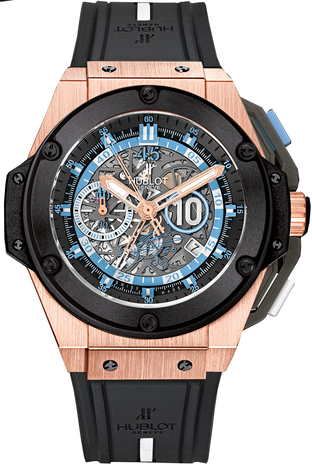 716.OM.1129.RX.DMA12 Hublot King Power Maradona Mens Watch - Click Image to Close