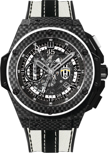 716.QX.1121.VR.JUV13 Hublot King Power Juventus Mens Watch