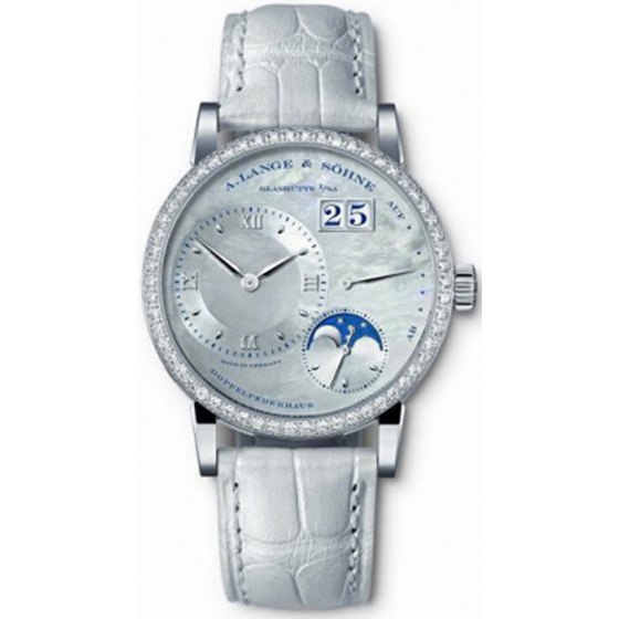 A. Lange & Sohne The Little Lange 1 Moonphase Ladies Watch 819.048 Replica