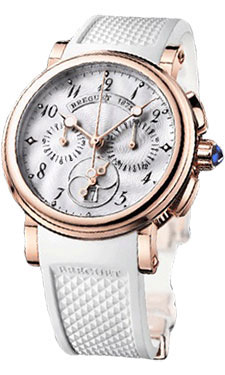 Breguet Marine Chronograph 18k Rose Gold Replica Watches On Sale