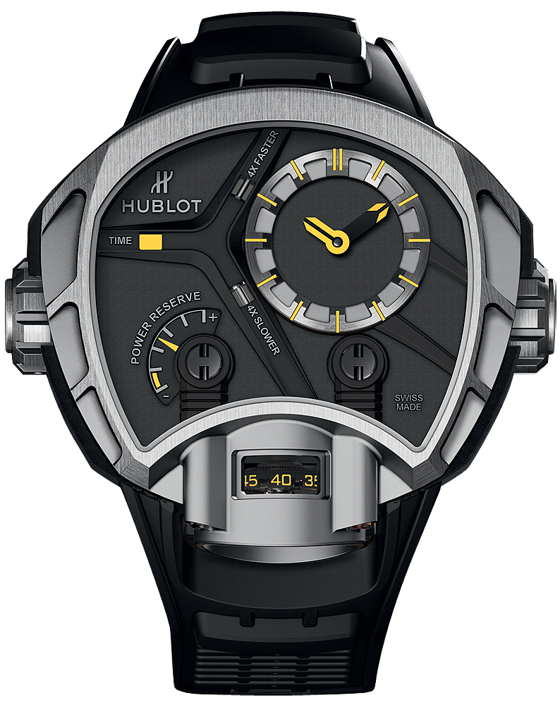 Hublot Masterpiece Mp-02 Key of Time Titanium Watch