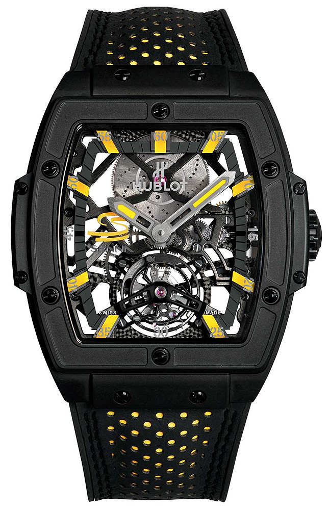 Hublot Masterpiece MP-06 Senna All Black Mens Watch906.ND.0129.V