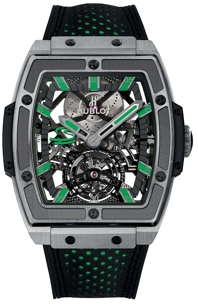 Hublot Masterpiece MP-06 Senna Titanium Mens Watch906.NX.0129.VR