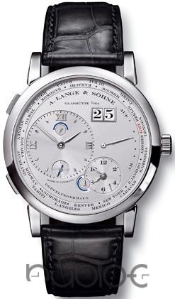 A Lange & Sohne Lange 1 Time Zone Mens Replica Watch 116.025