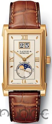 A Lange & Sohne Cabaret Moonphase Mens Mechanical Replica Watch 118.021