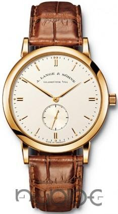 A Lange & Sohne Saxonia Mens Replica Watch 215.021
