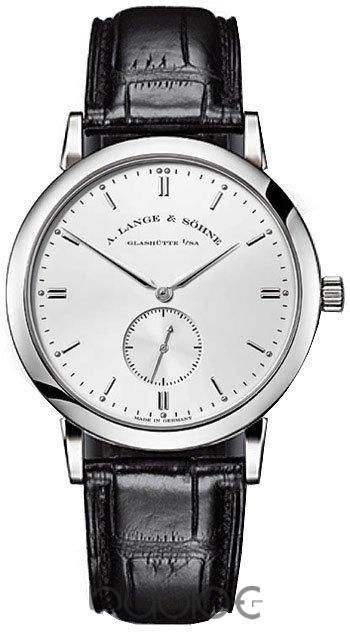 A Lange & Sohne Saxonia Mens Replica Watch 215.026