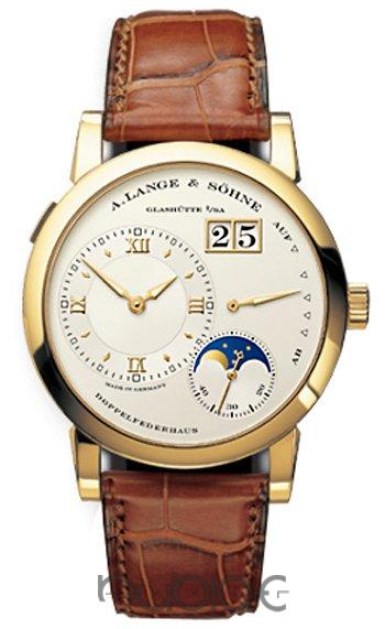A Lange & Sohne Lange 1 Moonphase Mens Replica Watch 109.021