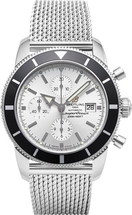 Breitling Superocean Heritage Chronograph Silver Dial A1332024/G698/152A Watch