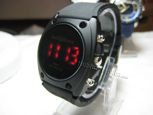 BELL ROSS New Arrival Black Bell & Ross BR02 LED