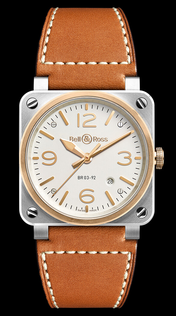 Bell & Ross BR 03-92 STEEL & ROSE GOLD