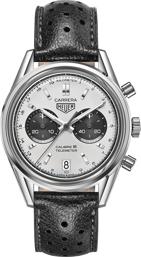 TAG Heuer Carrera Calibre 18 Automatic Chronograph 39 MM CAR221A CAR221A.FC6353