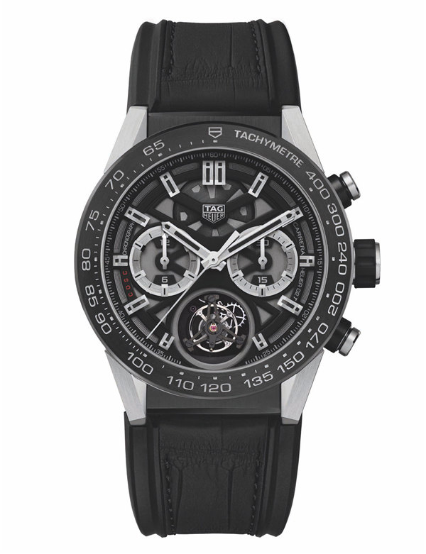 Tag Heuer Carrera Tourbillon Chronograph Automatic CAR5A8Y.FC6377 Replica