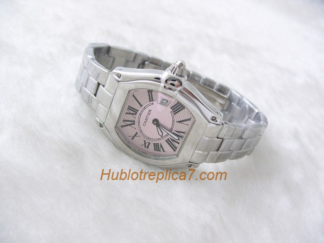 Cartier Roadster Steel Automatic Mens W62025V3