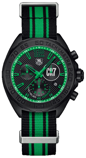 TAG Heuer Cristiano Ronaldo CR7 Limited Edition Mens Watch CAZ1113.FC8189