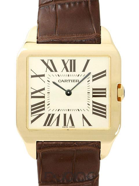 Swiss Cartier Santos Yellow Gold Replica Watches For Sale