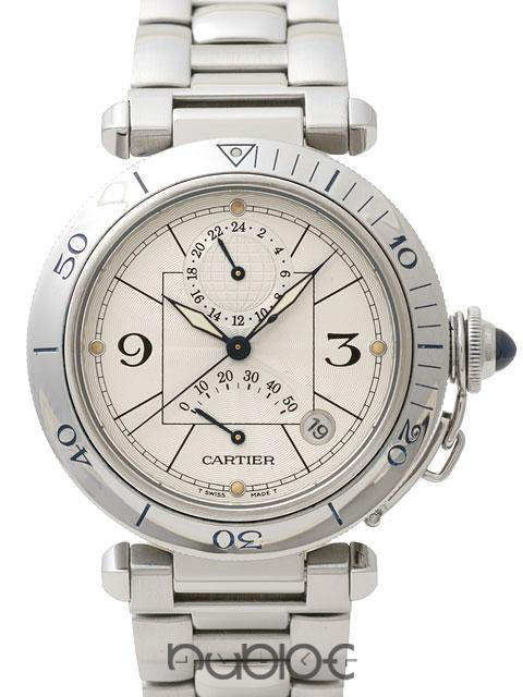 Cartier PASHA 38mm POWERRESEARVE W31037H3