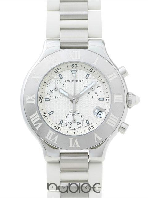 Cartier 21 CHRONOSCAP H W10184U2 - Click Image to Close