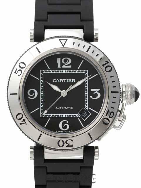 Cartier PASHA SEA TIMER W31077U2
