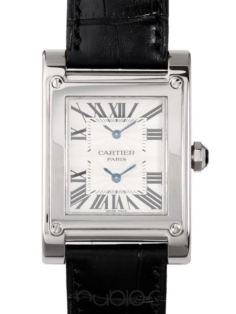 Cartier TANK AVIS 2TIME ZONE LM W1534351