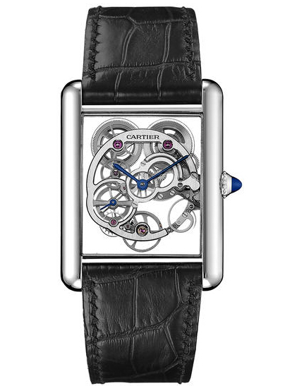 Cartier Tank Louis Cartier Sapphire Skeleton Watch W5310012