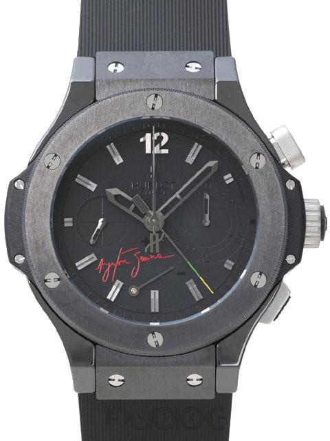 HUBLOT BIG BANG ALL BLACK AYRTON SENNA 309.CM.134.RX