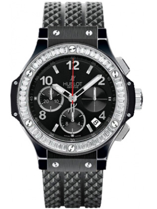 Hublot Big Bang Black Magic Diamonds 41mm 341.cd.130.rx.194 Watc