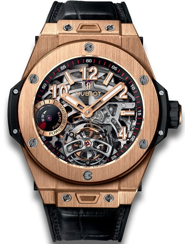 Hublot Big Bang Tourbillon Power Reserve 5 Days King Gold 45mm W