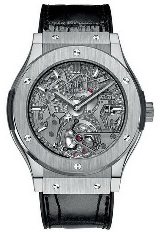 Hublot Classic Fusion Tourbillon Cathedral Minute Repeater Titan