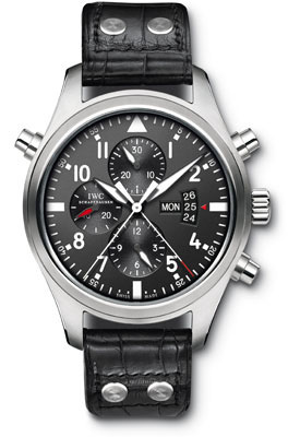IWC Pilots Watch Double Chronograph IW377801 replica
