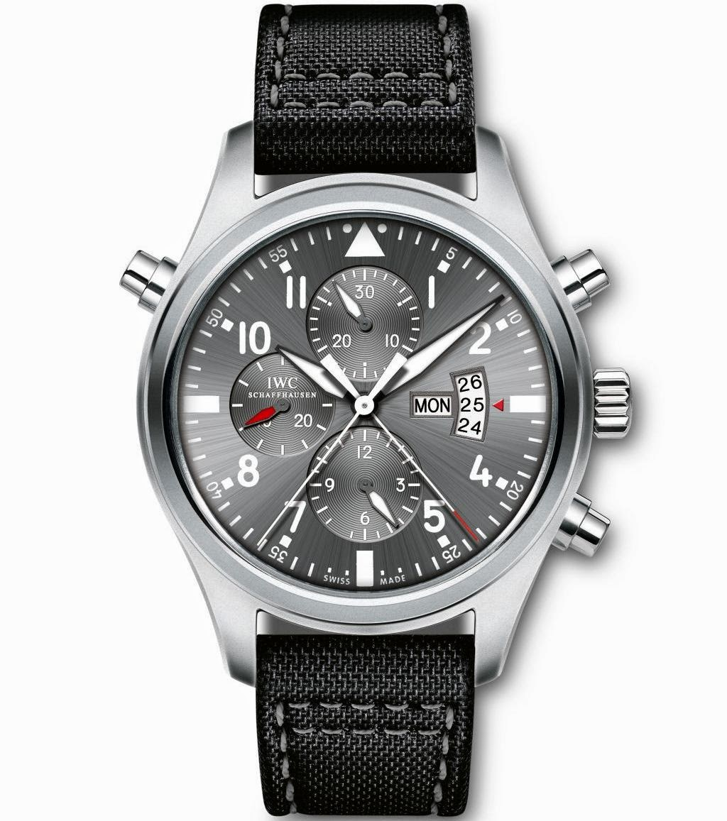 IWC Pilot's Watch Double Chronograph Edition Patrouille Suisse IW377805 replica